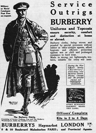 De geschiedenis van de trenchcoat | IsGeschiedenis