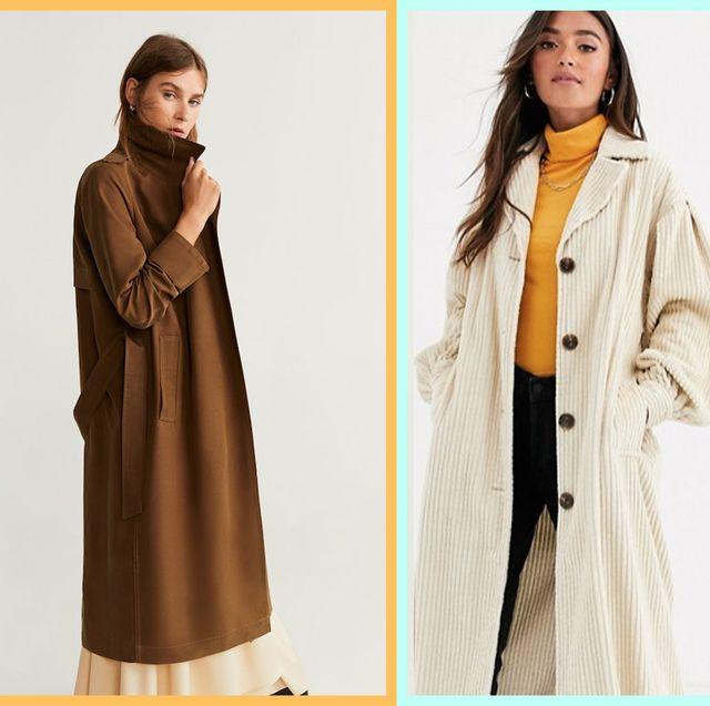 Mango/Asos/M&S trench coats