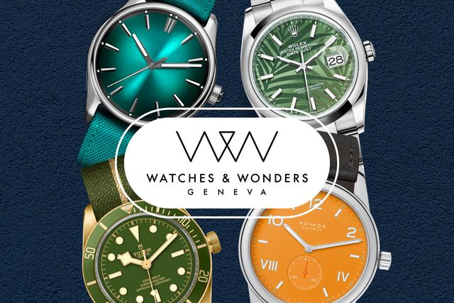 watches and wonders 2021 trend colorful dials