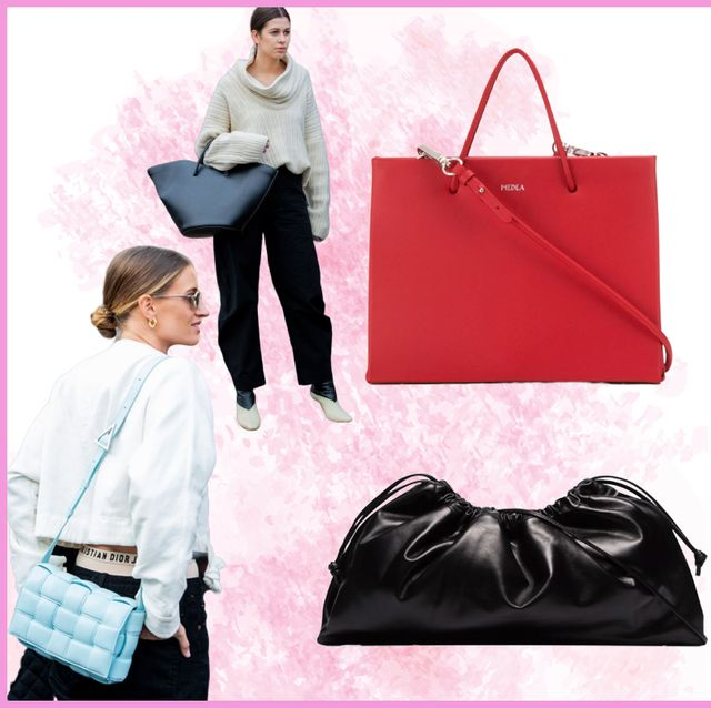 Bag, Handbag, Fashion accessory, Fashion, Tote bag, Pink, Leather, Material property, Luggage and bags, Brand,