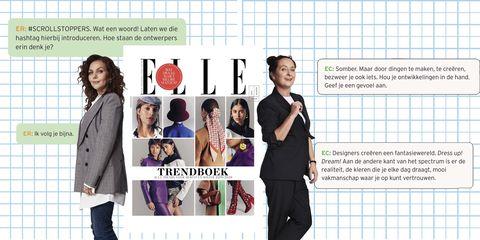 ELLE's Trendboek, ELLE augustusnummer, Edine Russel, Esther Coppoolse