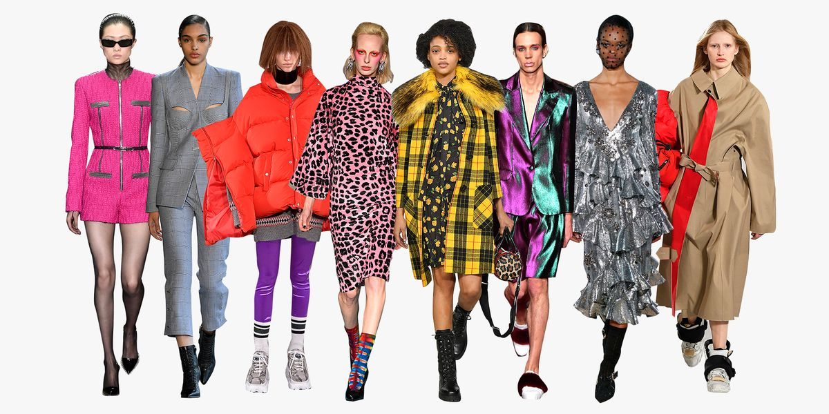 Top Fall 2018 Fashion Trends Best Fall 2018 Runway Style
