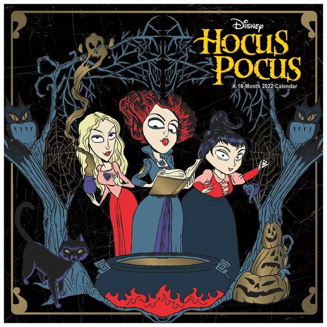 trends international disney hocus pocus wall calendar