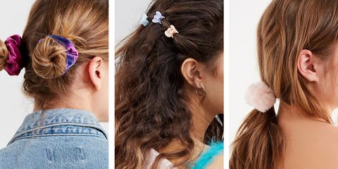 trendy throwback hair accessories