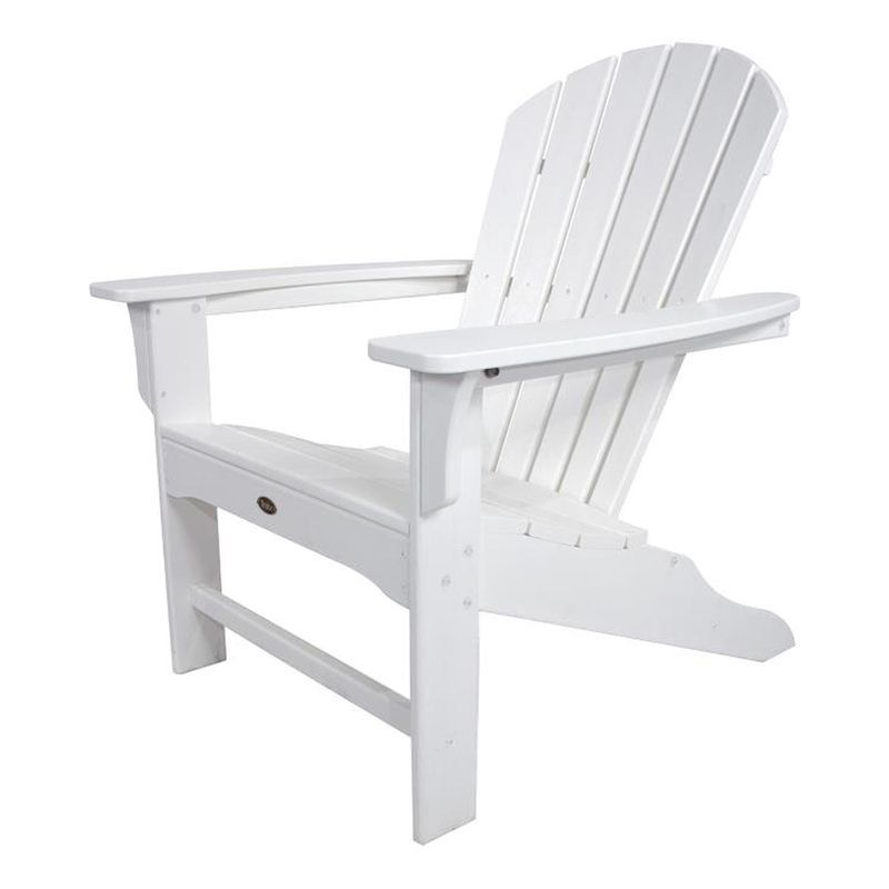 Trex Outdoor Furniture Cape Cod Classic White Patio Adirondack Chair
