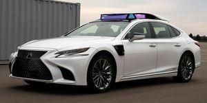 Autonomous Lexus LS