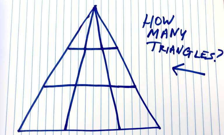 We Spent All Day Arguing About This Triangle Brain Teaser. Can You Solve It?