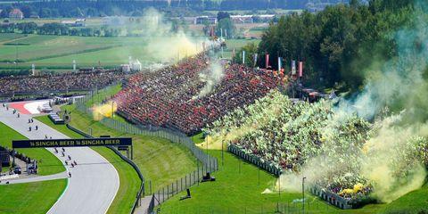 Carrera de MotoGP, en Austria