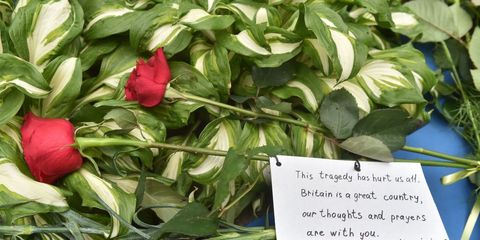 Tribute to victims of Manchester bombing