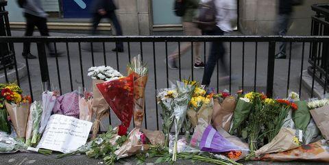 Tributes London attack