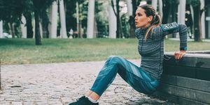 Oefeningen voor je triceps trainen