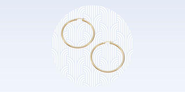 tried and true roberto coin gold hoops best hoop earrings