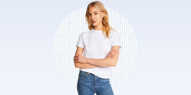 hanes x karla white crew neck tee shirt