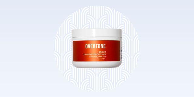 overtone red color conditioner revniew