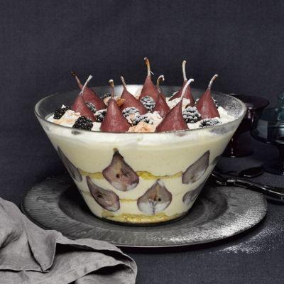 Trifle stoofperen