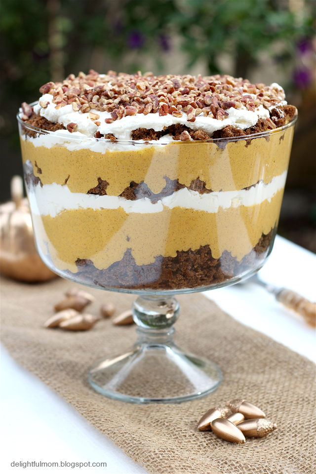 trifle recipes gingerbread