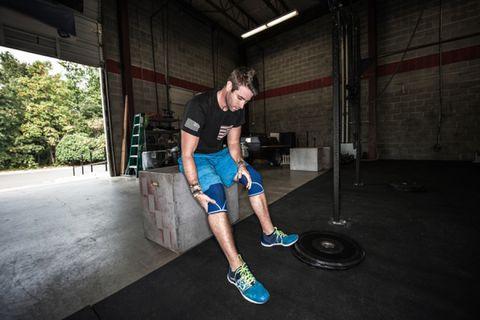 Trillende spieren na krachttraining