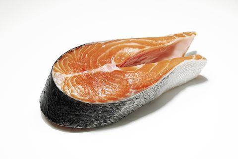 trimmed salmon fillet
