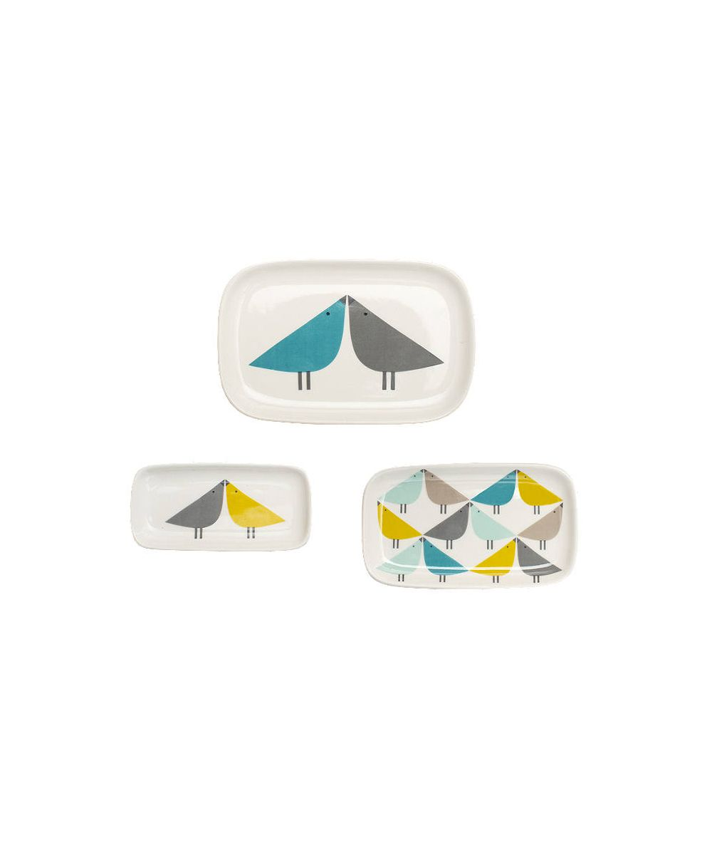 Scion Lintu Trinket Dishes, Set of 3