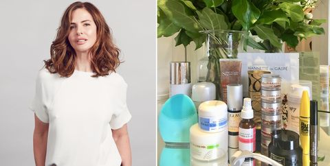 Trinny Woodall makeup and skincare
