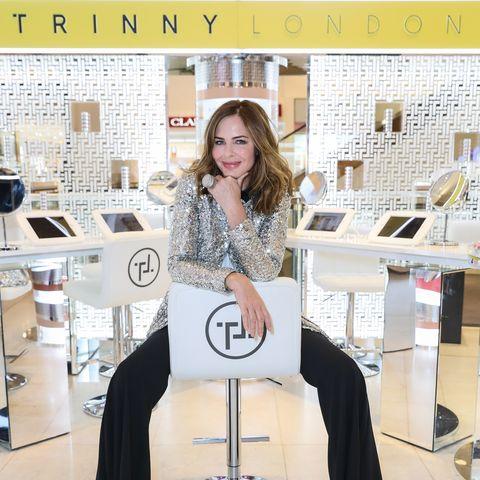 Trinny Woodall makeup