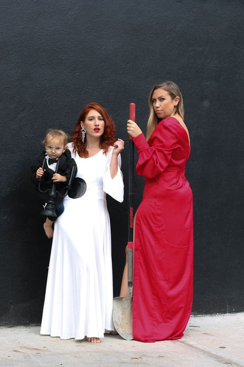 death becomes her trio halloween costume