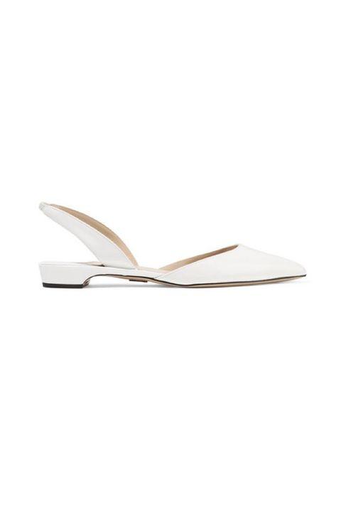 Footwear, Slingback, Beige, Shoe, Sandal, Slipper, Flip-flops, Leather,