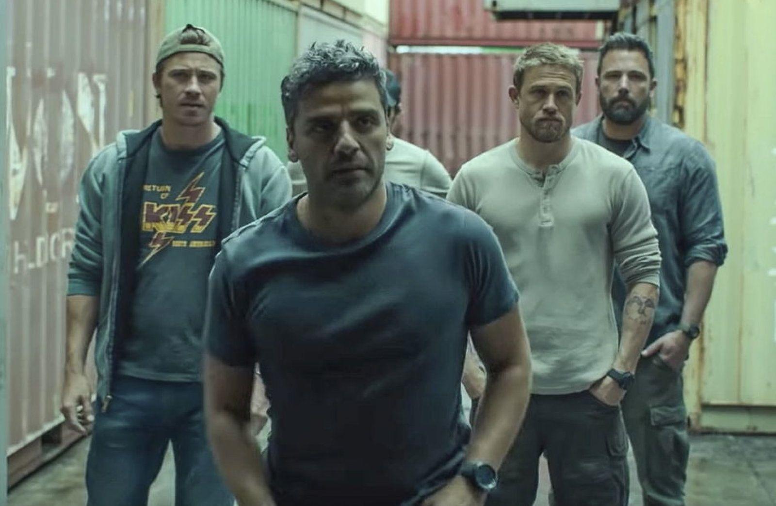 Triple frontera pelicula trailer netflix JC Chandor - Ben Affleck Oscar Isaac Pedro Pascal