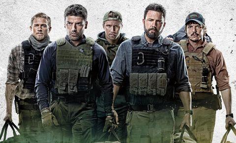 el reparto de la película triple frontera