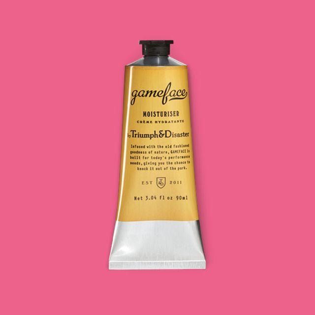 triumph  disaster gameface moisturiser tube review