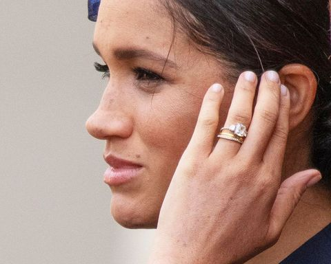 Meghan Markle Wedding Ring.See Meghan Markle S Newly Redesigned Engagement Ring In Photos