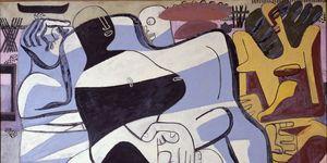 Trois baigneuses, 1935 de la exposición de Le Corbusier