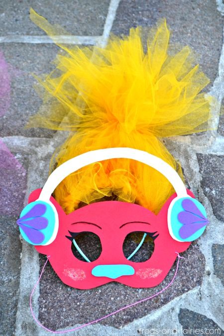 Troll Halloween Mask
