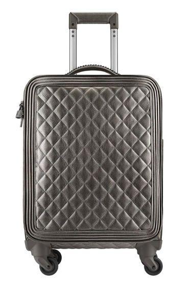 Trolley in pelle matelassé della linea di borse e viaggio di Chanel della Primavera Estate 2016