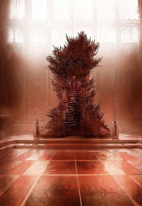 Así era el Trono de Hierro original de 'Juego de tronos'