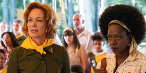 Allison Janney and Viola Davis in Troop Zero