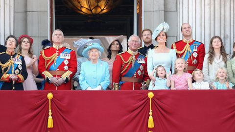 7439cda11b9f Why the royal family might skip their Trooping the Colour balcony ...