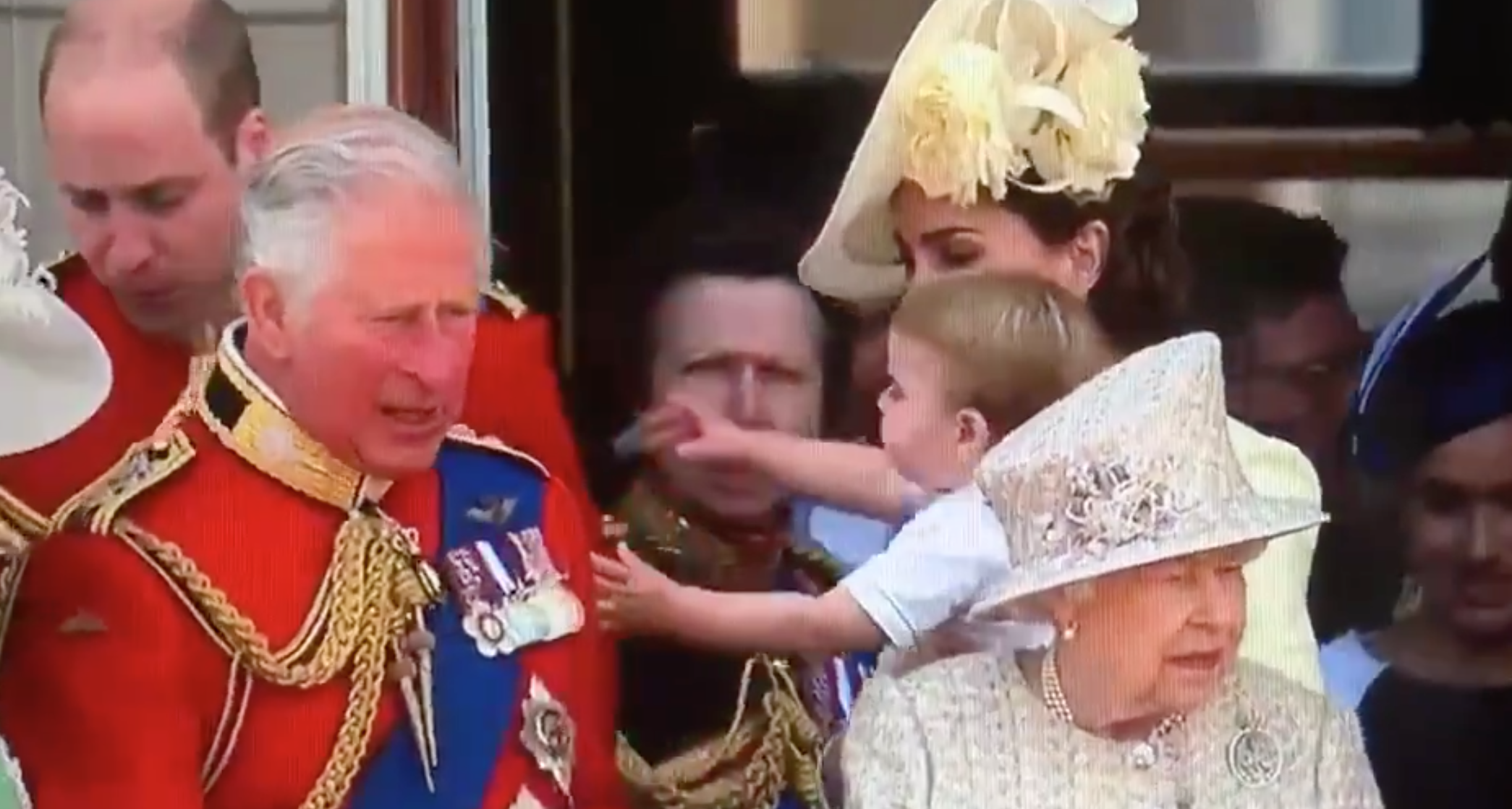 Prince Louis Kept Reaching for William at 2019 Trooping the
