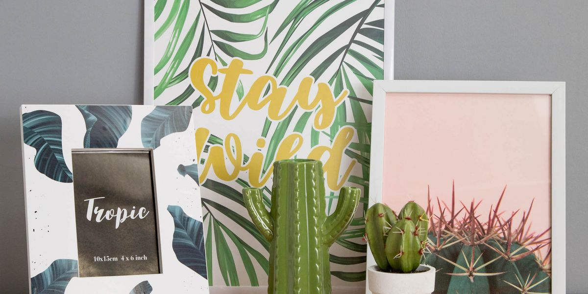 Transform A Wall With Poundland S Art Prints And Frames