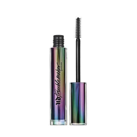 Cosmetics, Mascara, Product, Eye, Beauty, Violet, Eye liner, Eyelash, Material property, Liquid,