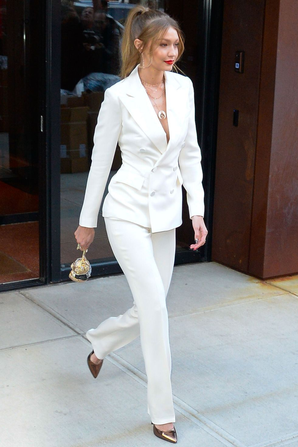 Best celebrity trouser suits style moments