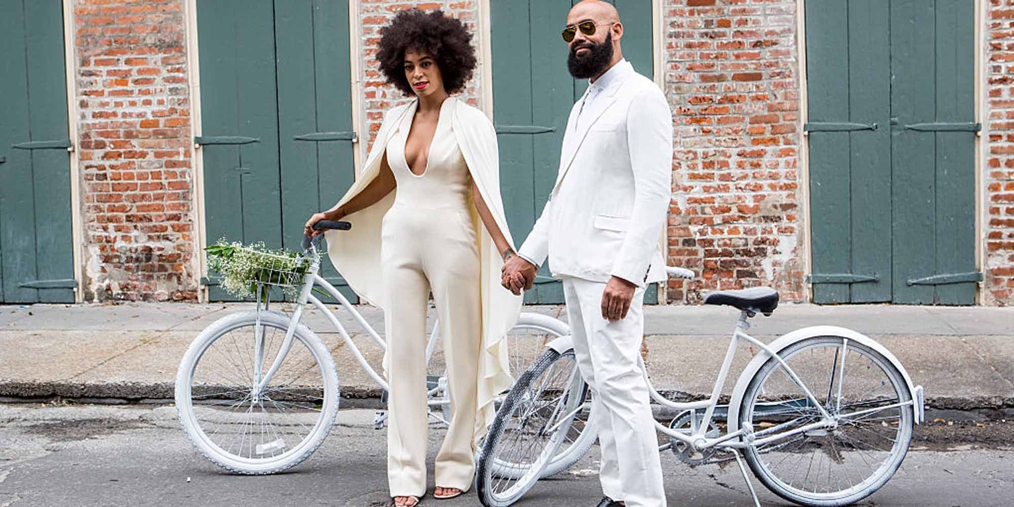 Solange Knowles Marries Alan Ferguson - Wedding Day