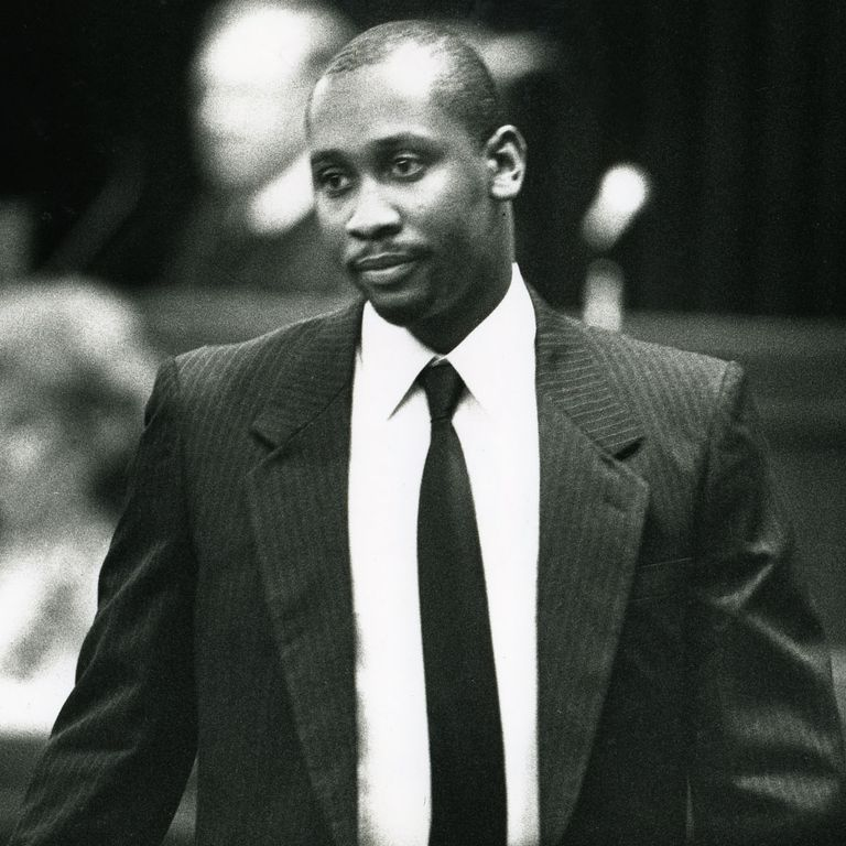 Davis-Correia's uncle Troy Davis before his 2011 execution, which drew the attention of civil rights groups.