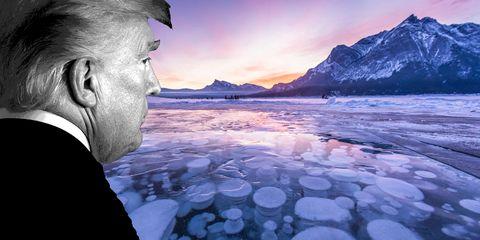 sky, natural landscape, mountain, water, ice, cloud, sea, ocean, glacial landform, fjord,