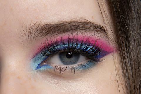 trucco occhi bicolor inverno 2020 2021