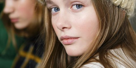 Hair, Face, Lip, Nose, Blond, Hairstyle, Eyebrow, Cheek, Beauty, Head,