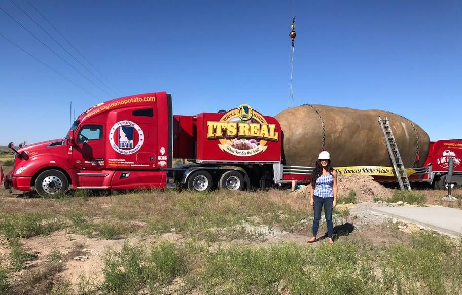 This Giant Potato Is Actually an Idaho Airbnb You Can Rent For $200 a Night