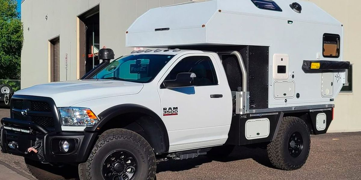 This Badass Off-Road Truck Camper Is Ready for Anything