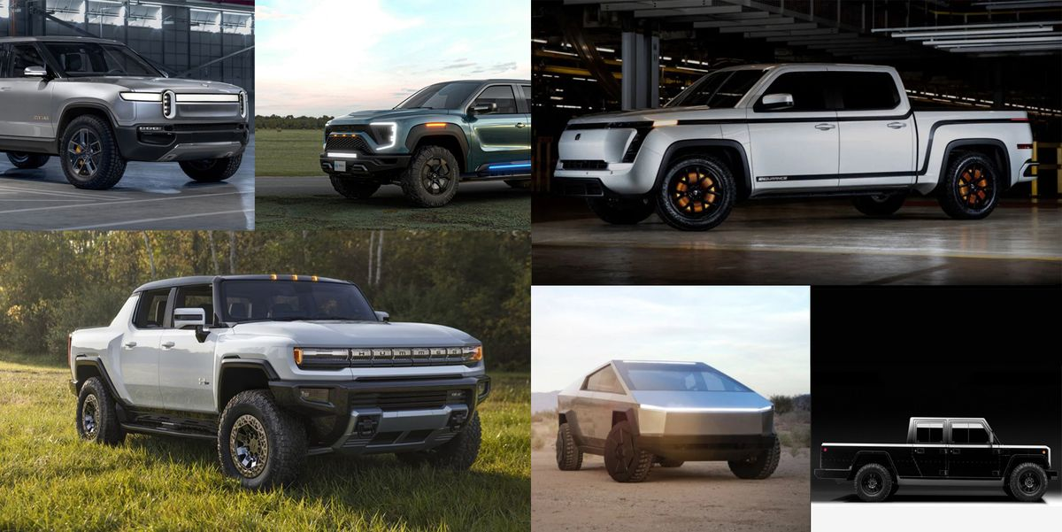 Check Out All the Electric Pickup Trucks Coming down the Pike