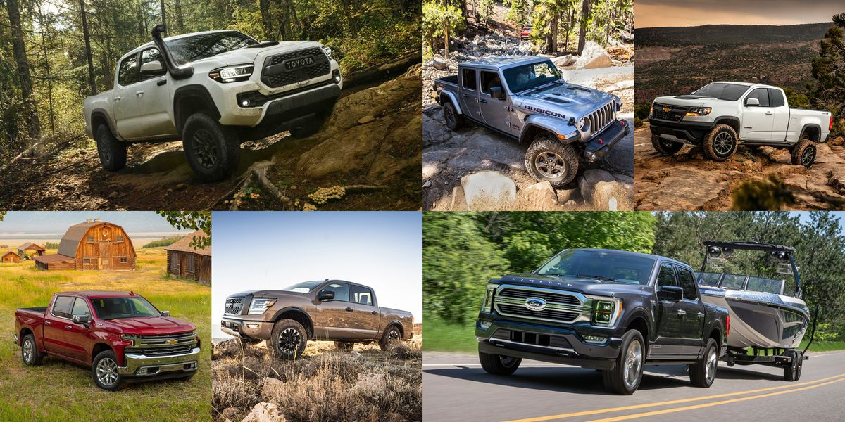 20 Pickup Trucks to Carry You into Next Year